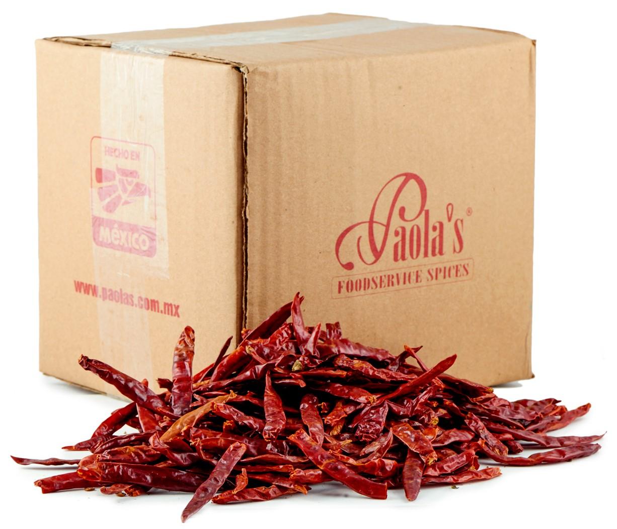 Chili Arbol getrocknet Paolas  / 1 kg