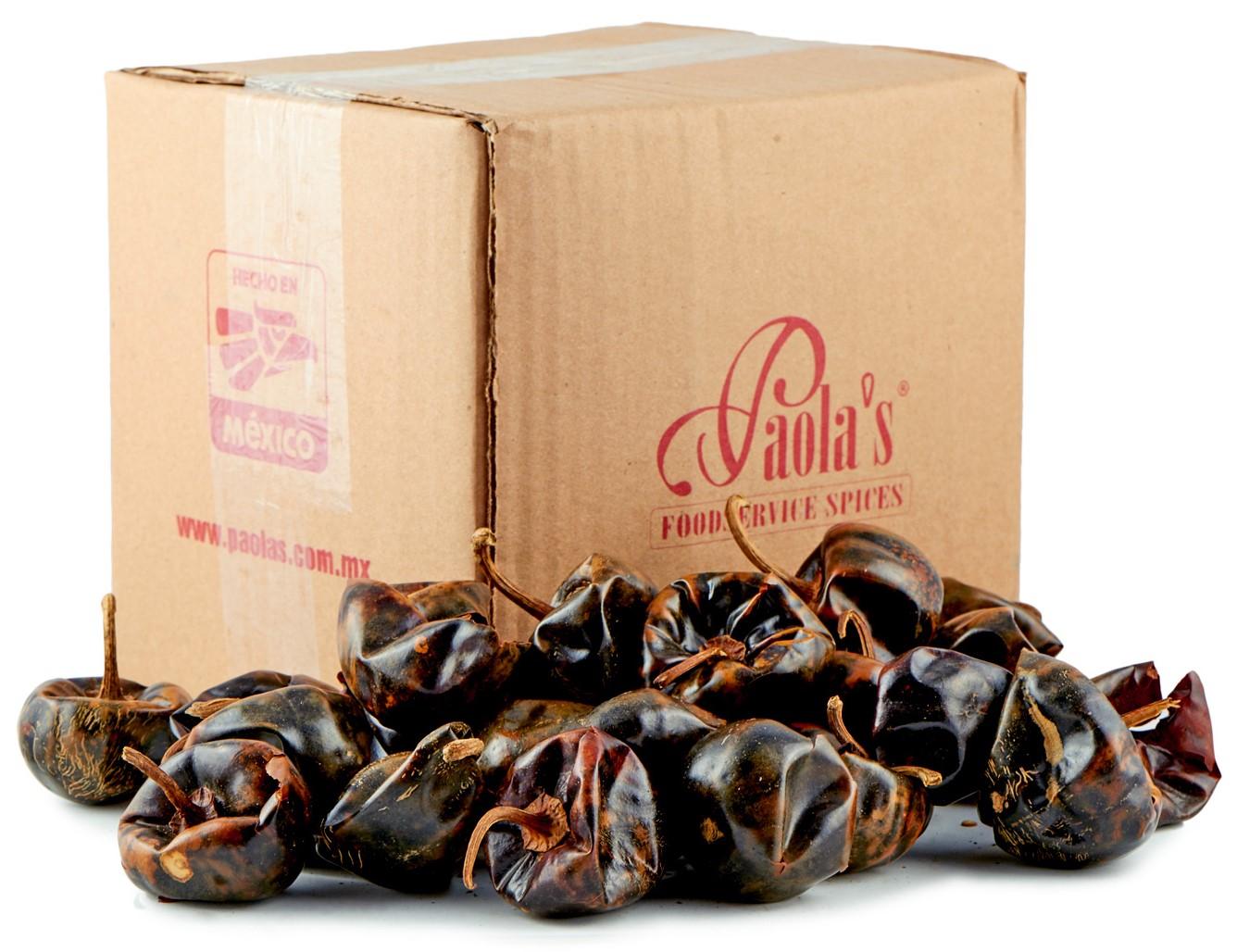 Chili Cascabel getrocknet Paolas 500 g