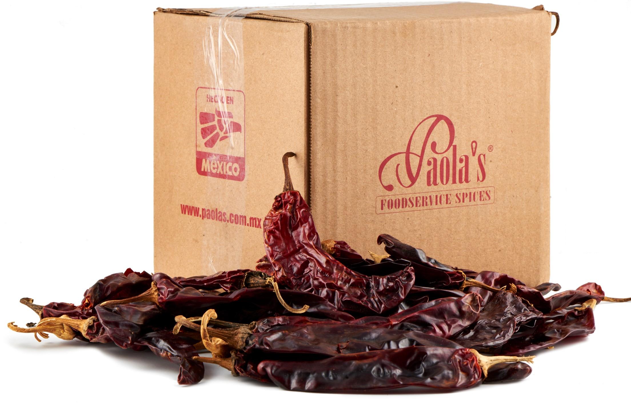 Chili Guajillo getrocknet Paolas 1 kg