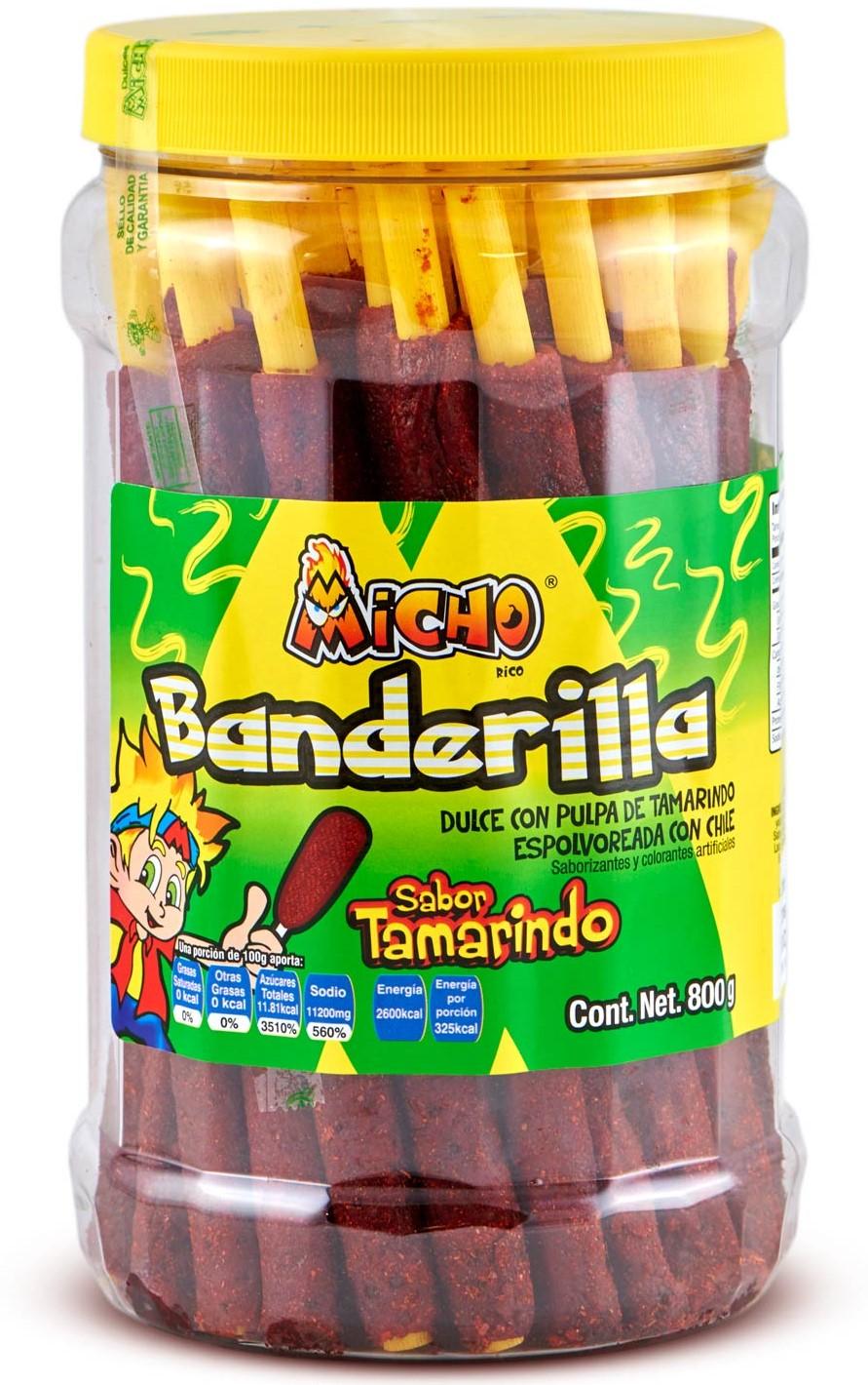 Banderillas Micho Tamarinde mit Chili 40 St.