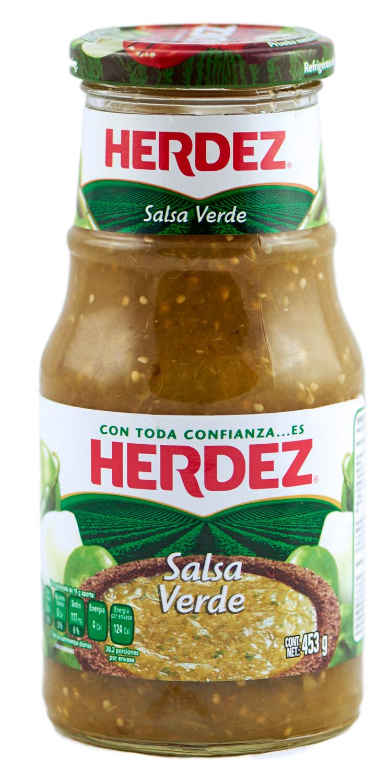 Herdez -Salsa Verde –  453 g – GLAS